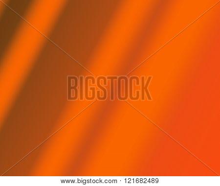 Orange multiple tone wavy graphic dark background.