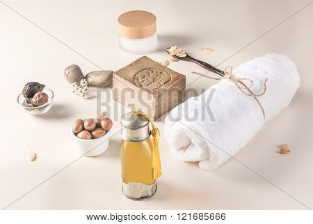 Argan Fruit And Oil Composition