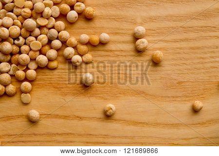 Dry Peas Closeup