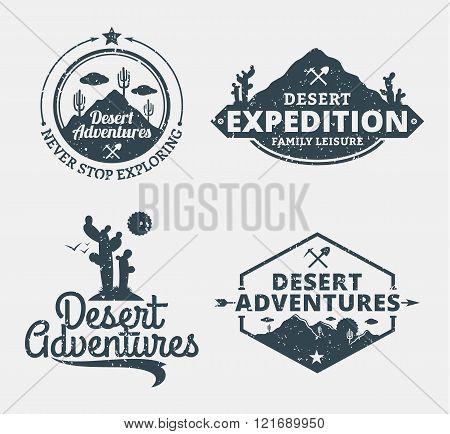 Set Of Desert Adventures Logo