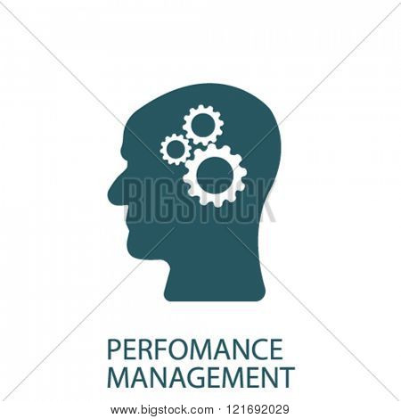perfomance management icon