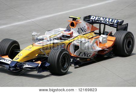 f1 2007 ing renault Kovalainen