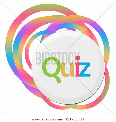 Quiz Random Colorful Rings