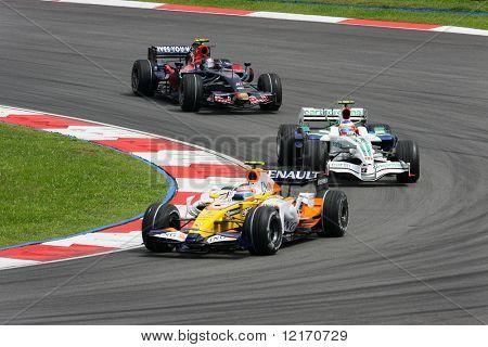 F1 race Kuala Lumpur 2008