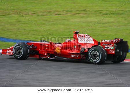 Kimi Raikkonen, Finland of Scuderia Ferrari Malboro, F1 team 2008
