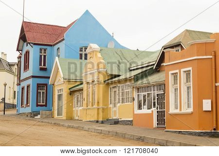 Lüderitz in Namibia, Africa