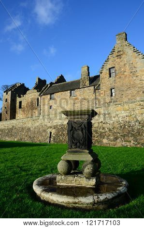 Sundial and Castle