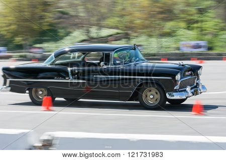 Chevrolet Bel Air In Autocross