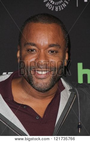 LOS ANGELES - MAR 11:  Lee Daniels at the PaleyFest Los Angeles - Empire at the Dolby Theater on March 11, 2016 in Los Angeles, CA