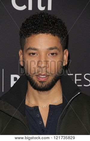 LOS ANGELES - MAR 11:  Jussie Smollett at the PaleyFest Los Angeles - Empire at the Dolby Theater on March 11, 2016 in Los Angeles, CA