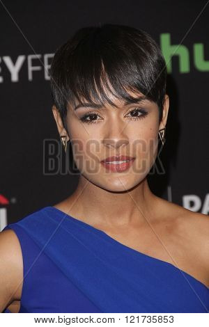 LOS ANGELES - MAR 11:  Grace Gealey at the PaleyFest Los Angeles - Empire at the Dolby Theater on March 11, 2016 in Los Angeles, CA