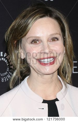 LOS ANGELES - MAR 13:  Calista Flockhart at the PaleyFest Los Angeles - Supergirl at the Dolby Theater on March 13, 2016 in Los Angeles, CA