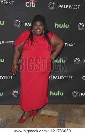 LOS ANGELES - MAR 11:  Gabourey Sidibe at the PaleyFest Los Angeles - Empire at the Dolby Theater on March 11, 2016 in Los Angeles, CA