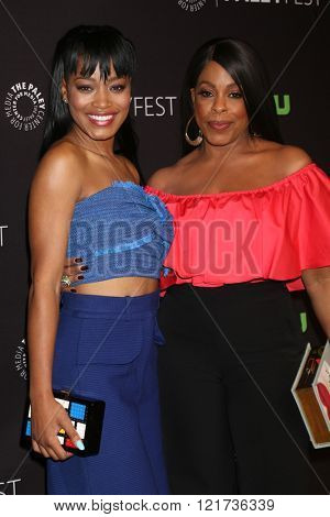 LOS ANGELES - MAR 12:  Keke Palmer, Niecy Nash at the PaleyFest Los Angeles - Scream Queens at the Dolby Theater on March 12, 2016 in Los Angeles, CA