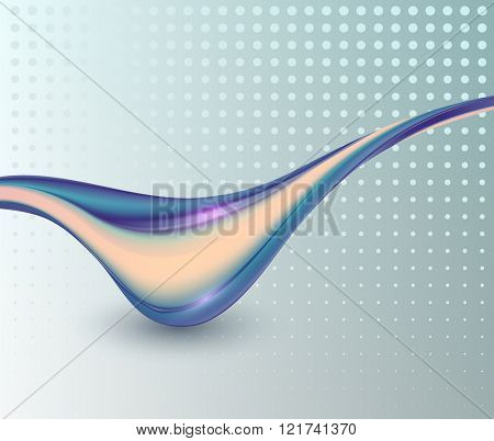 Abstract  background with smooth lines