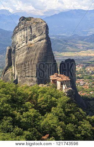 The Holy Monastery of Rousanou in Meteora