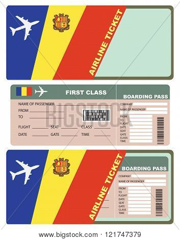 Plane Tickets To First Class Andorra