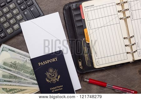 Open Daily, Passport And Money.