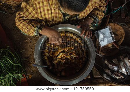 Myanmar local food