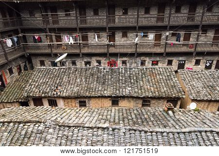 Hakka Enclosed located in JiangXi, China