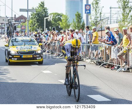 The Cyclist Paul Martens - Tour De France 2015