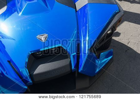 Polaris Slingshot on detail
