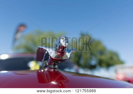 Hood ornament from old car