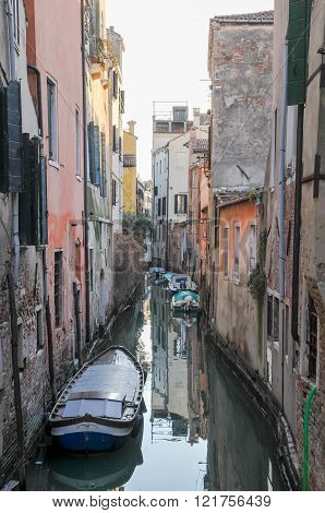 Typical Venice City View