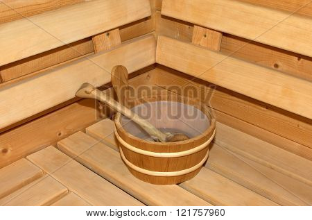 Small Home Finnish Wooden Sauna