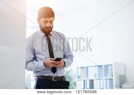 Checking phone