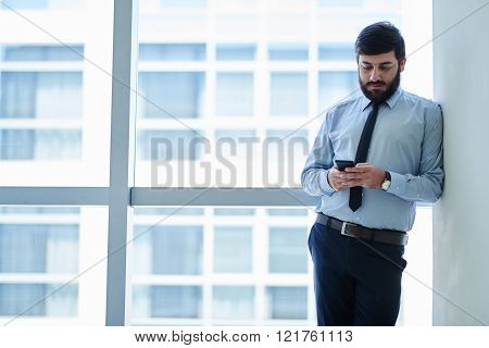 Communicating with business partner
