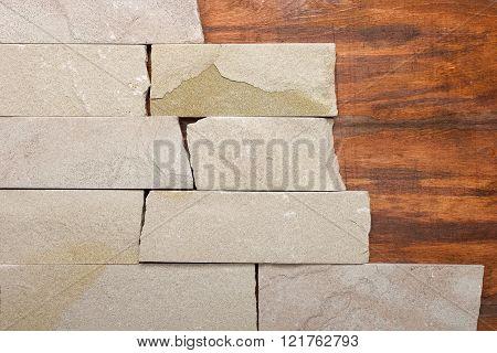 Wall Stone Texture Background Masonry