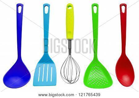 Kitchen Utensils - Colorful