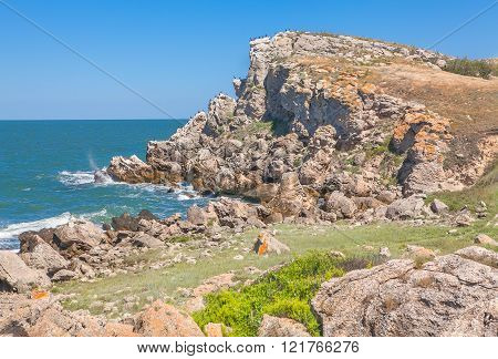 beautiful rocky coast