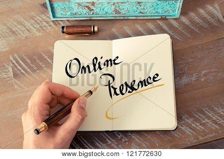 Written Text Online Presence