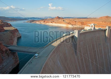 Lake Powell and Hoover Dam in Glen Canyon, Arizona
