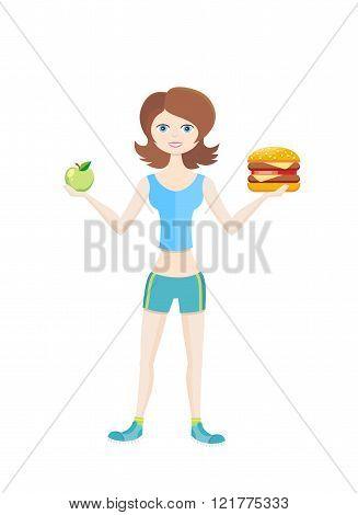 Sport Diet Healthy Way of Life