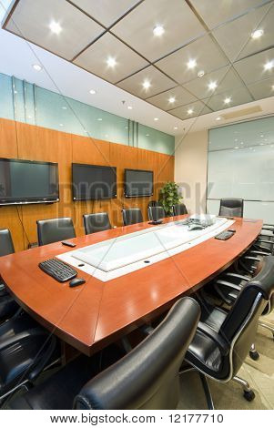 Interior sala de juntas de la oficina moderna
