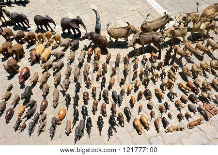 Street Market In Swakopmund, Namibia