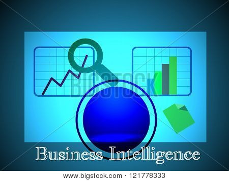 Concept of Business Intelligence Which also represents OLAP which performs the multidimensional analysis of business data. Also represents Analytic Dashboard Reporting and infographics.