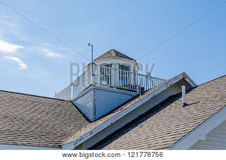 Old Cupola And Widows Walk