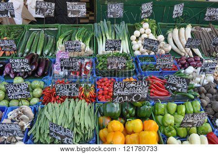 Greengrocer Produce Market