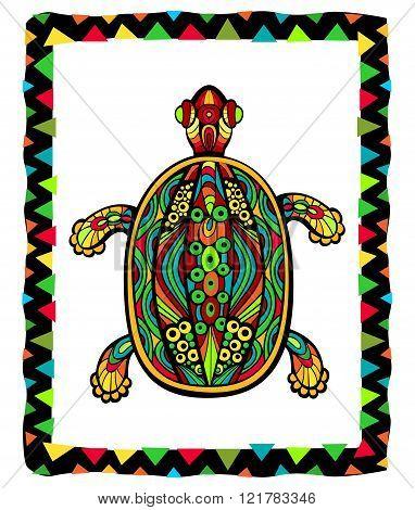 Bright Ornate Turtle
