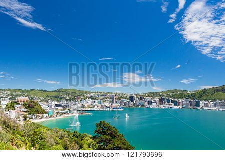Bay Of Wellington And Harbour