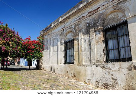 Colonia del Sacramento's old houses