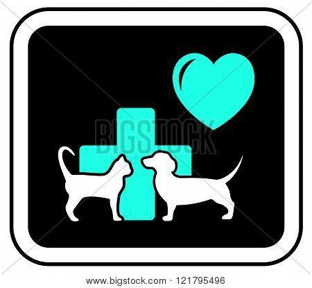 art veterinary sign