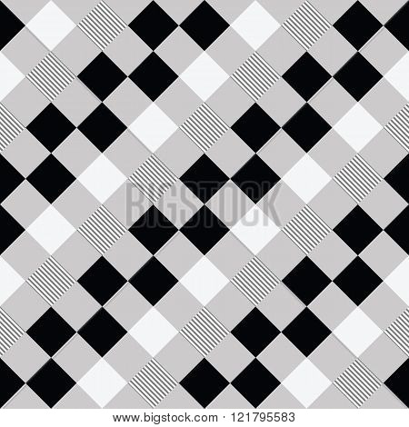 Seamless background of squares