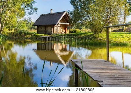 House with a pier