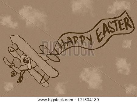 Fly Easter Vintage