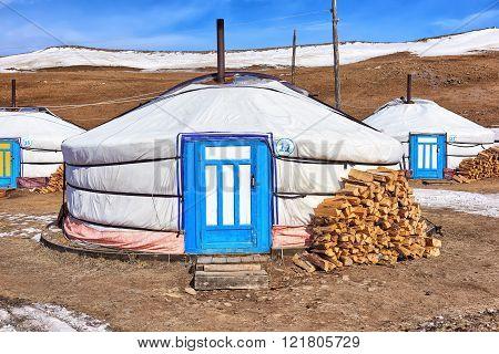 Mongolian Ger (yurt) - Modern Dwelling Nomads